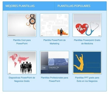 Algunos Sitios para descargar plantillas de Word y PowerPoint | TIC Y TIC | Scoop.it