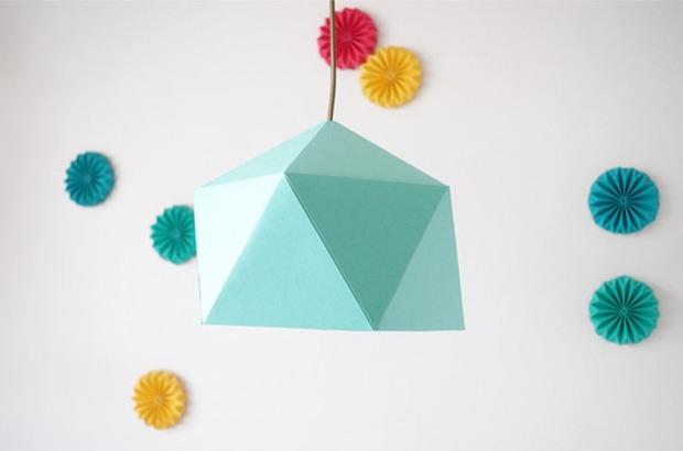 DIY : Fabriquez vous-même un abat-jour en origami | La Revue de Technitoit | Scoop.it