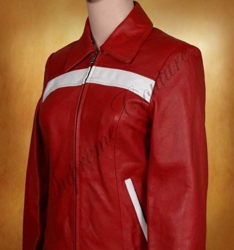 For feminine leather collection of Cerise Rocking Women Jacket is idyllic. | WOMEN JACKETS | Scoop.it