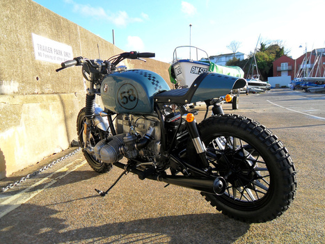 "BMW R100 SCRAMBLER ""SPIDER"" by KEVILS SPEED SHOP 