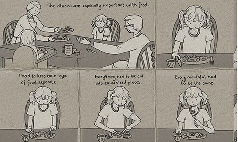 Graphic novel on eating disorders: 'Lighter Than My Shadow' by Katie Green | Psychology | Scoop.it