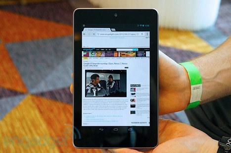 Nexus 7 tablet hands-on (video) -- Engadget | Communi_technology | Scoop.it