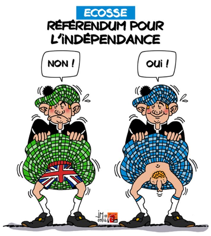 Ecosse : référendum pour l'indépendance | Baie d'humour | Scoop.it