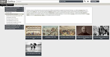 L'histoire de France par l'image, version Gallica - extraordinaire ressource pour l'enseignement de l'histoire | Enseigner l'Histoire-Géographie | Scoop.it