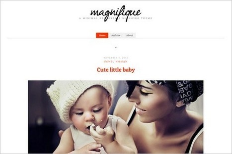 Magnifique is a free WordPress blog Theme by cssigniter | WP Daily Themes | Spirituality & God's Love | Scoop.it