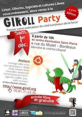 Quetzal Party à Bordeaux le 1er décembre 2012 - LinuxFr.org | Ubuntu French Press Review | Scoop.it