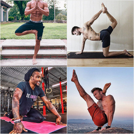 These 25 Hot Yogis Will Inspire You to Hit the Mat   fitness, health,news&music   Scoop.it