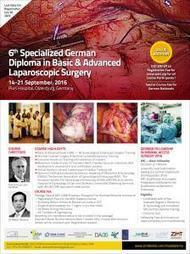 Announcing the 6th Specialized German Diploma in Basic & Advanced Laparoscopic Surgery | CME-CPD | Scoop.it