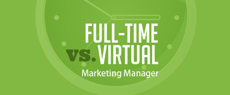 Hiring a Virtual Marketing Manager Versus a Full-Time Employee | Small Business Marketing & PR | Scoop.it