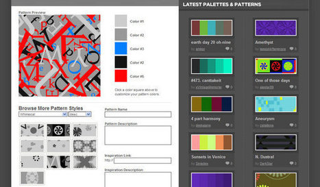 15 Online Background Generators | Artdictive Habits : Sustainable Lifestyle | Scoop.it