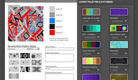 15 Online Background Generators | Artdictive Habits : Sustainable Lifestyle | Scoop.it