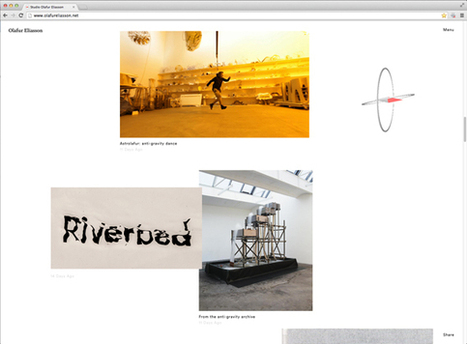 Creative Review - Your Uncertain Archive by Olafur Eliasson | Interactive possibilities | Scoop.it
