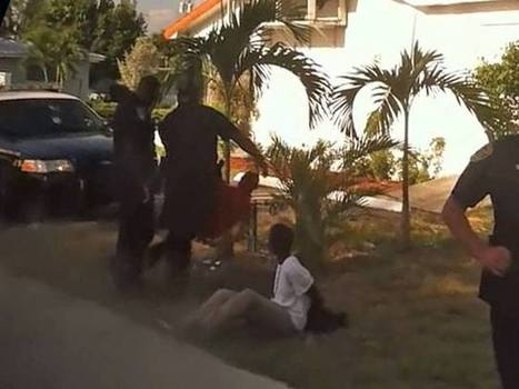 Video shows Boynton Beach police officer kicking legs out from under child   Upsetment   Scoop.it