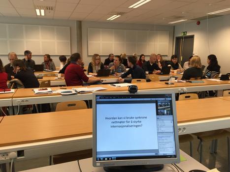 Kollaboratives und interaktives Lernen im Webinar - Erfahrungen aus Skandinavien | Lerntechnologien im Fremdsprachenunterricht | Scoop.it