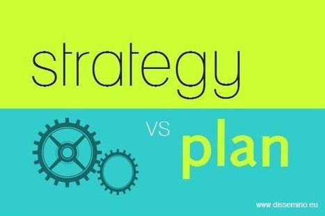 Project dissemination strategy vs dissemination plan - Dissemino.eu | EU project dissemination | Scoop.it