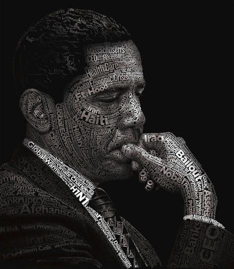 10 (Really) Beautiful Human Portrait Typography Designs | Digital Luxury Chronicles | Scoop.it