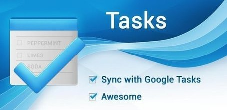 Tasks: taken synchroniseren tussen Android en Gmail - ZDNet.nl | EDUDROID | Scoop.it