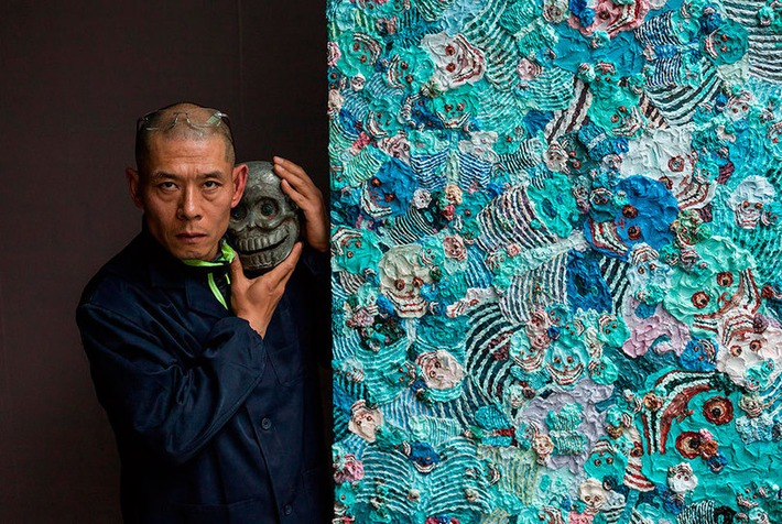 Pace presents a retrospective of Zhang Huan's oeuvre at project space  in Switzerland | Art Daily | Asie | Scoop.it