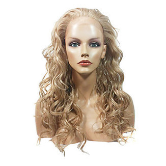 Lace Front Stylish Long Curly Blonde Heat-resistant Synthetic Wig – WigSuperDeal.com | Party Wigs | Scoop.it