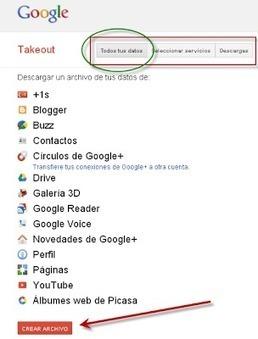El Frente de Liberación de Datos y Google Takeout | Herramientas TIC para el aula | Scoop.it