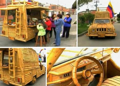 Guadamóvil. Automóvil hecho de guada y bambú   Mens sana in corpore sano   Scoop.it