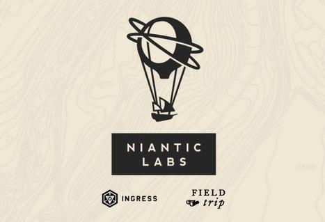 Le N de Niantic Labs ne fait pas partie de l'Alphabet de Google   Android Stuff For You   Scoop.it