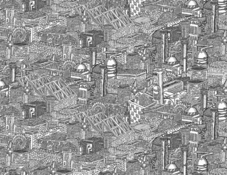 Arte y Arquitectura: Ilustraciones de Powers Bowman | Plataforma ... | Dibujo Técnico a través del arte. Arte a través del Dibujo Técnico. | Scoop.it