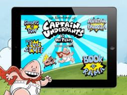 """Scholastic Launches """"The Adventures of Captain Underpants"""" App for iPad 