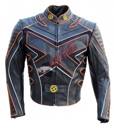 X Men 3 Leather jacket X 3 leather jacket wolverine Last Stand motorcycle Leather Biker Jacket With CE Armour protection | movie leather jackets | Scoop.it