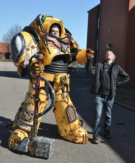 Warhammer 40K Costume is the Best Kind of Monstrosity | All Geeks | Scoop.it