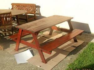 Table pique nique en bois #palettes pour les enfants | Best of coin des bricoleurs | Scoop.it