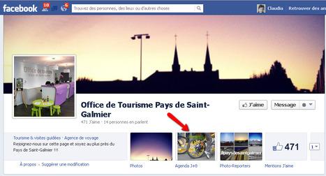 Page Facebook de l'Office de Tourisme Pays de Saint-Galmier | Sites qui ont implémenté les Widgets Sitra | Scoop.it
