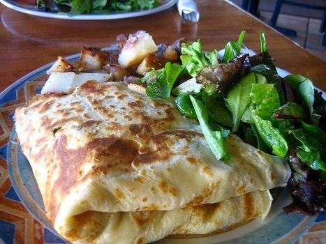 Recette de crêpes aux épinards, jambon de parme, fromage, crème, pignons de pin | Cuisine & Déco de Melodie68 | Scoop.it