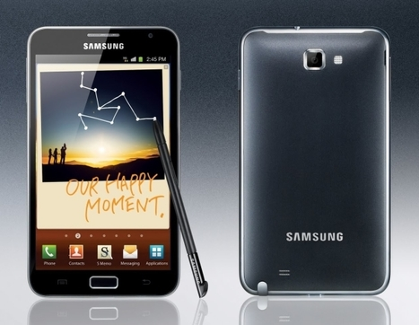 Samsung Galaxy Note official.. landing at T-Mobile | Mobile IT | Scoop.it