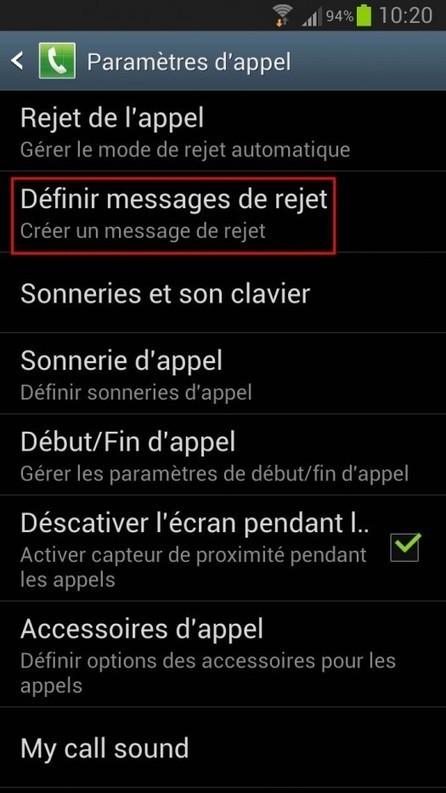 Répondre à un appel par un SMS sur un mobile Android | SMS Solutions professionnelles | Scoop.it
