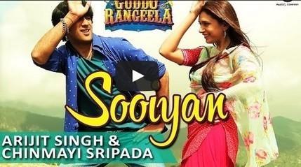 BollyWolly: Sooiyan Lyrics & Audio Video Free Song Download - Guddu Rangeela | Arijit Singh | Entertainment | Scoop.it