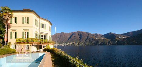waterfront mansion on lake Como   Villa for Sale Lake Como   Scoop.it