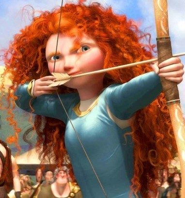 How Pixar Made Merida's Hair Misbehave   Brave - Changing Faces of Disney Princesses   Scoop.it
