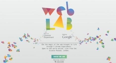 El Chrome Web Lab expande sus experimentos interactivos | Recull diari | Scoop.it