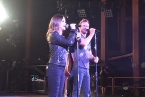 Bentley, Morris Sing 'I'll Be the Moon' at Red Rocks [WATCH] | Country Music Today | Scoop.it
