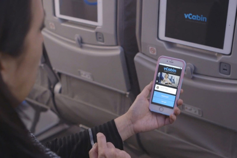 Boeing Passengers Control In-Flight Experience On Phones | Retail and Technology | Scoop.it