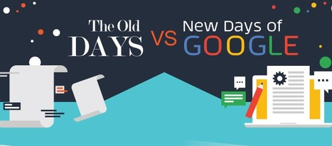 The Old Days of Google vs the New Google Infographic - e-Learning Infographics | Learning Bytes from The Consultants-E | Scoop.it