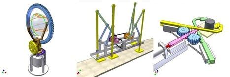 2100 Animated Mechanical Mechanisms | Ressources pour la Technologie au College | Scoop.it