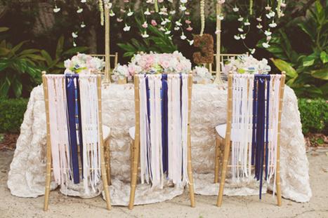 Décoration de mariage : Une inspiration Romantique . - DIY Déco | Décoration de Mariage, Baptême et déco de table | Scoop.it