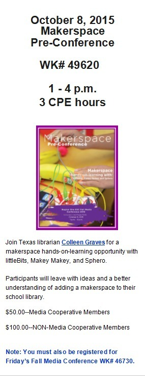 October 8, 201 Makerspace Pre-Conference | Information Powerhouses | Scoop.it