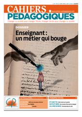 « Des enseignants qui se retroussent les manches et qui ré-enchantent le métier - Les Cahiers pédagogiques   conférence pédagogique   Scoop.it