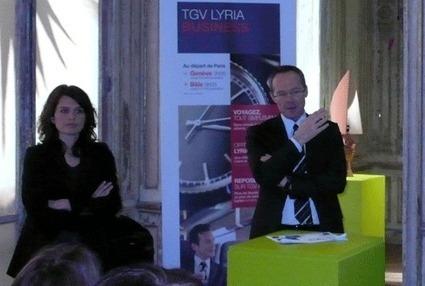 TGV Lyria courtise la clientèle affaires | L'actualité du transport de mars 2014 | Scoop.it