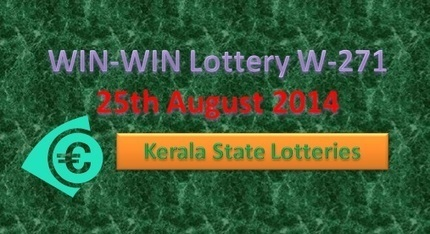 WIN-WIN Lottery W-271 Result on 25th August 2014 | Fun TV Web | Scoop.it