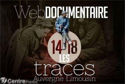 Les empreintes indélébiles de la Grande guerre dans un web documentaire - Le Populaire.fr | Nos Racines | Scoop.it