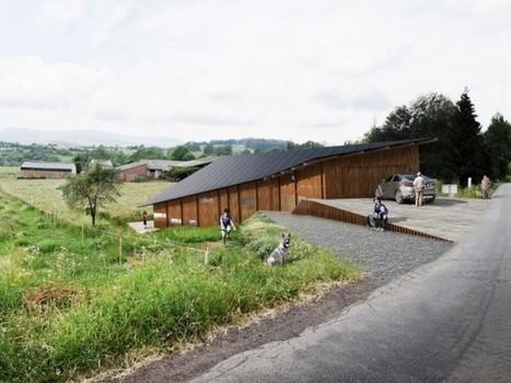 En Auvergne, une maison papillon | Construire sa maison avec un architecte | Scoop.it